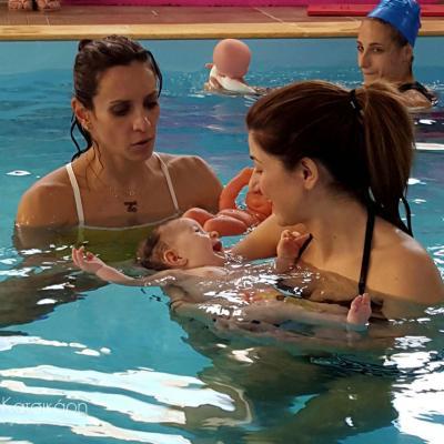 Baby Swimming επίπεδο 1 - Βρεφική Κολύμβηση - Εκπαιδευτικό Σεμινάριο Διεθνούς Πιστοποίησης Birthlight - Ιούνιος 2017 - Αθήνα