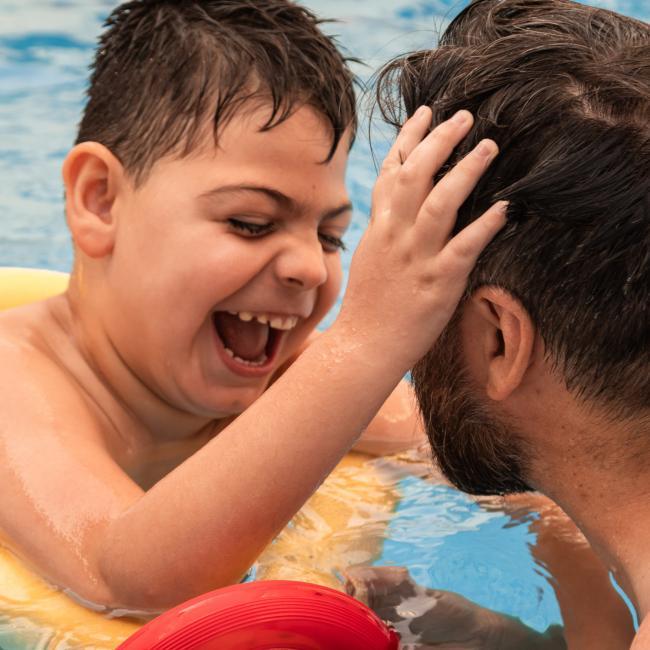 Βρεφική και Νηπιακή Κολύμβηση για παιδιά με αναπηρίες