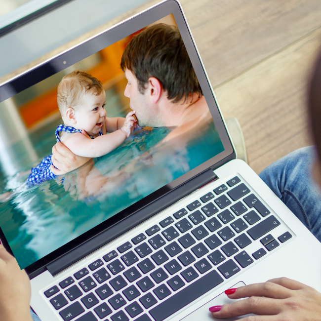 Online Baby Swimming Μαθήματα